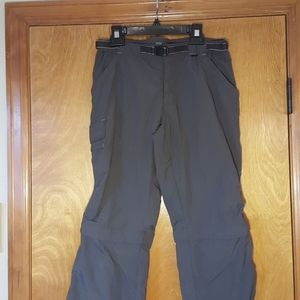 REI Convertible hiking  pant.